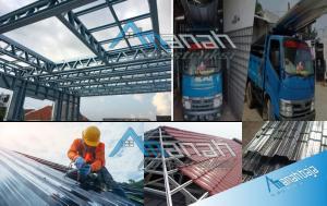 Daftar harga dengan harga yang murah dan material standar SNI di amanah konstruksi