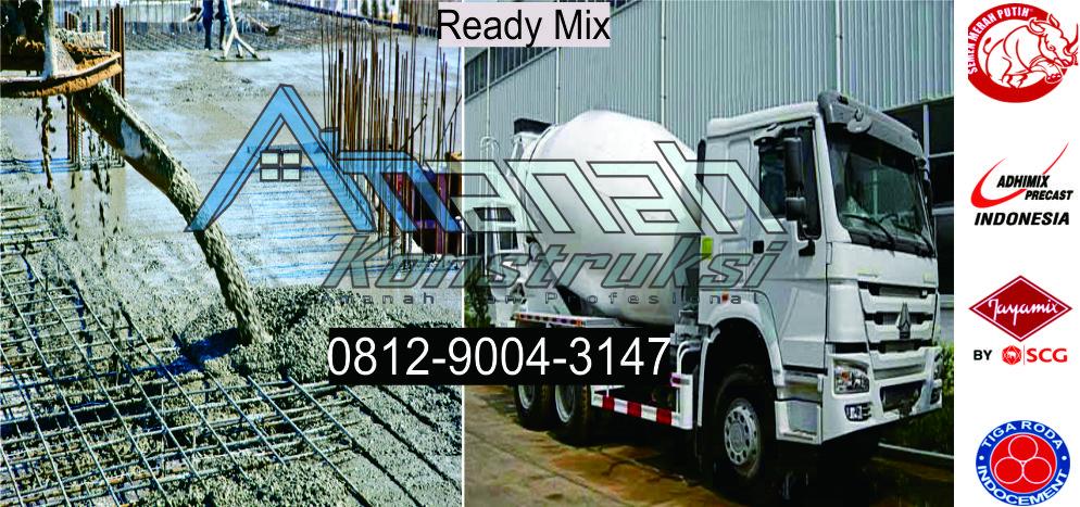 Harga ready mix Bandung terbaru di amanah konstruksi dengan harga terbaik dan kualitas terjamin