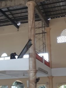 Intalasi Baja Masjid At-Taqwa Cileungsi