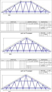 gambar perancangan kuda-kuda baja ringan berikut perhitungan beban